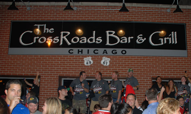 The CrossRoads Bar and Grill