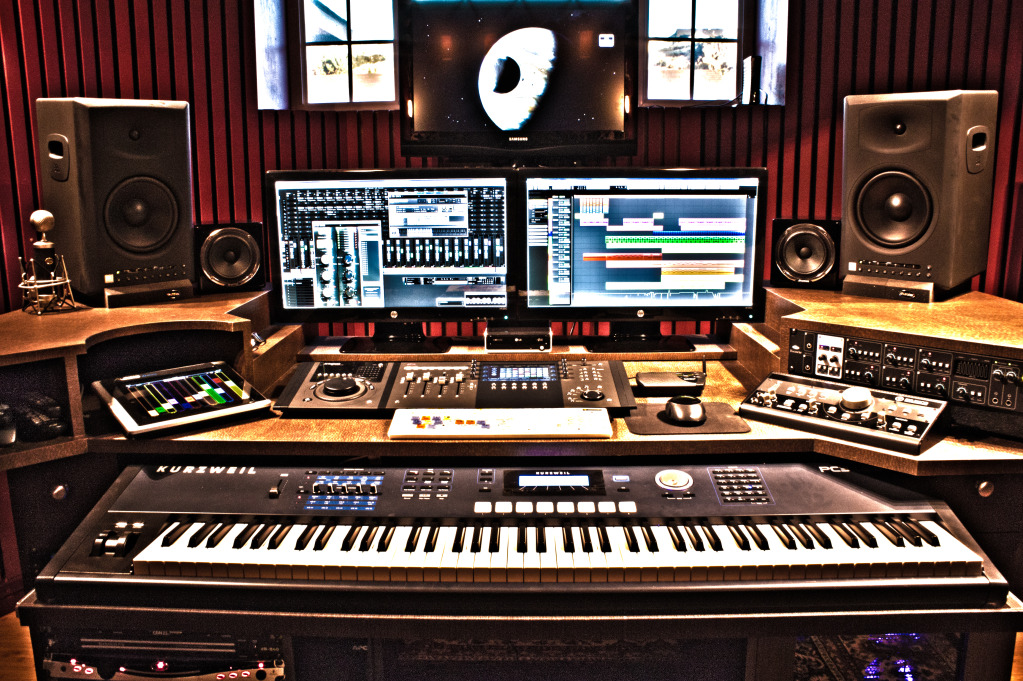 Awe Inspiring How To Set Up Your Own Home Recording Studio Chicago Music Largest Home Design Picture Inspirations Pitcheantrous