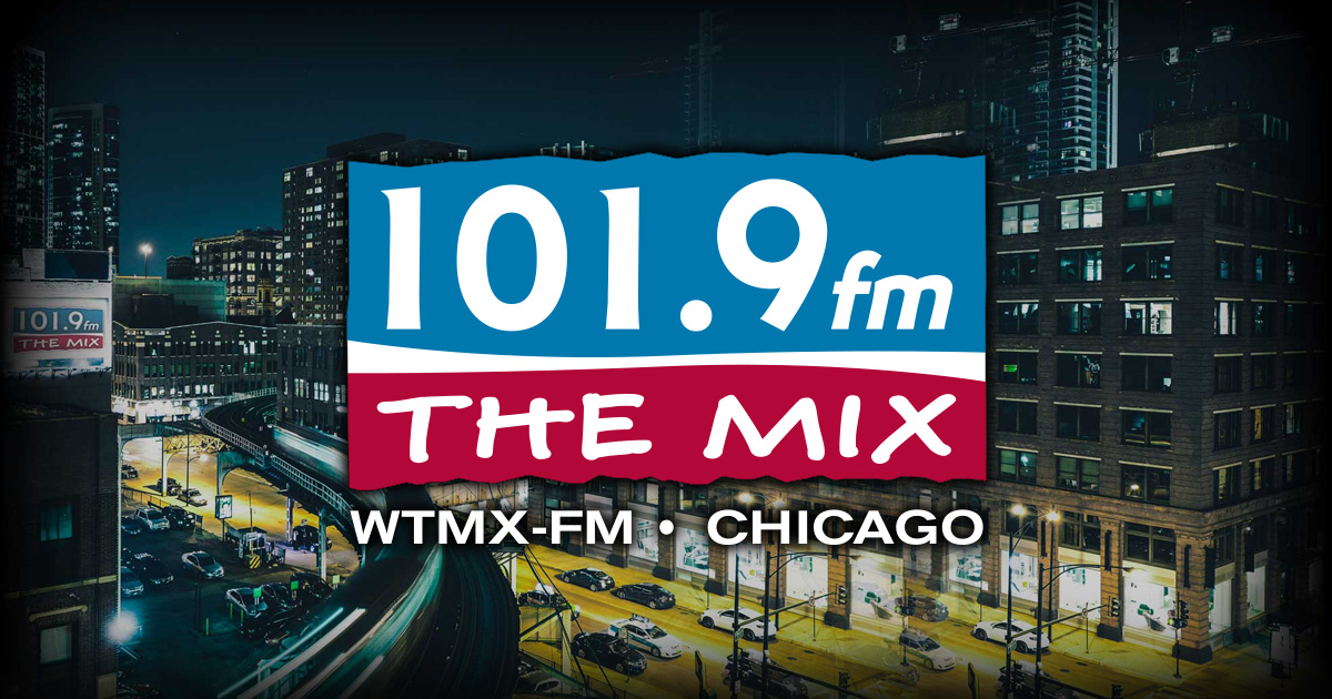 WTMX-FM – 101.9 FM The Mix